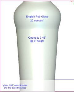 English Pub Glass Mold