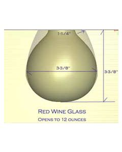 Red Wine Glass Mold