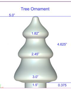 Tree Ornament Mold