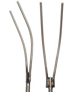 """Fork - Curved 7"""" (48""""L Shaft, 3"""" T-handle)"""