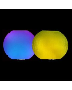 Blue/Gold on Wissmach 96 Clear - Thin