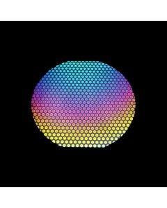 """Dot Pattern 3 (1/2"""" dia) on System 96 Black"""