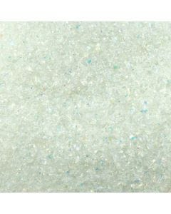 Dichroic Coated Frit Flakes on System 96 Clear (1 oz)