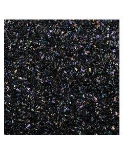 Dichroic Coated Frit Flakes on System 96 Black (1 oz)
