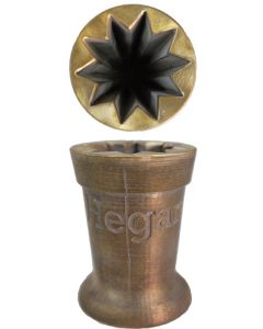 """Bronze Mold - 3"""" - 10 Point (Closed)"""