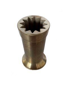 """Bronze Mold - 4"""" - 12 Point (Narrow)"""