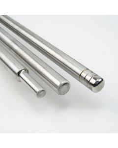 """Straight Punty (3/4"""") with 1/2"""" Step Down Head"""