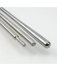 10mm Cup Punty with Step Down Head - Stainless Steel Tip
